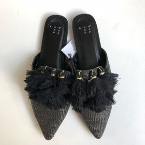 NWT A New Day Black Mules